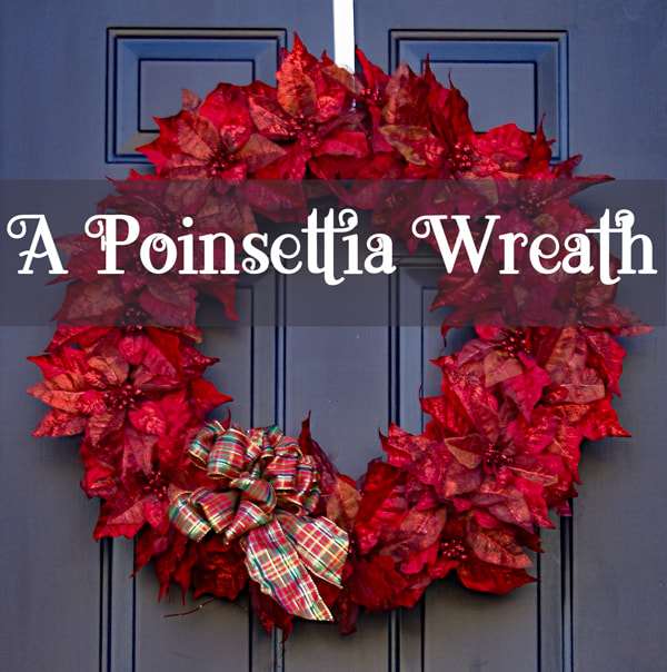 diy poinsettia wreath tutorial